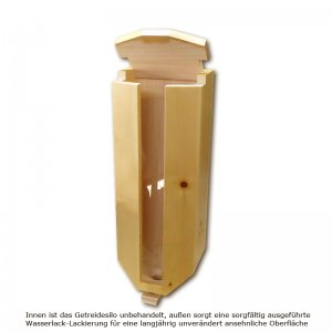 Bild 1 zu Artikel Getreidesilo (1x5kg) aus Zirbenholz