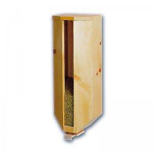 WALDNER Getreidesilo (1x5kg) aus Zirbenholz Getreidespeicher