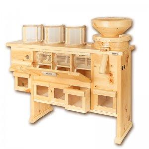 Bild 1 zu Artikel Getreidemühle Osttiroler COMBI mit angebauter Siebmaschine