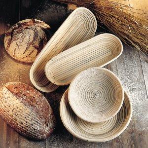 Bild 1 zu Artikel Gärkörbchen-Set rund und oval spezial für 1kg-Brot