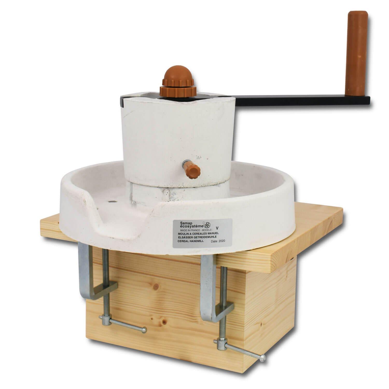 Bild zu  SAMAP Handmühle mit Tischklemmen
