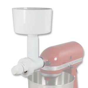 Messerschmidt Stahlmahlvorsatz an KitchenAid