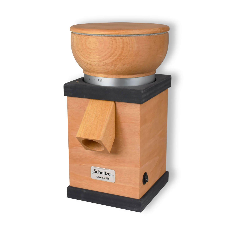 Bild zu Getreidemühle Schnitzer Cerealo 125 anthrazit