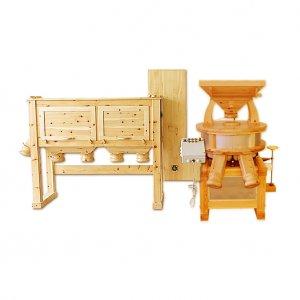 Gewerbemühle 100 mit Lift und Siebmaschine (Bäckermühle)