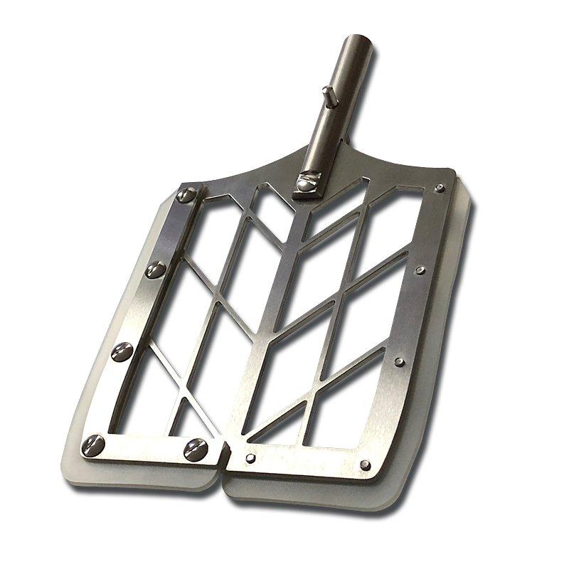 Edelstahl-Rührpaddel für Teigknetmaschine Alpha