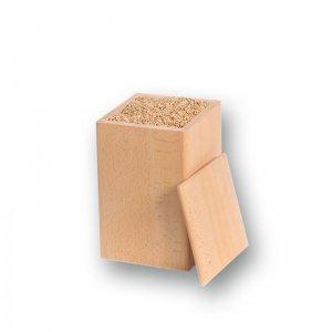 Buchenholzdose für 1,0 kg