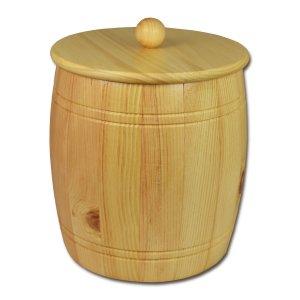 Bild zu Osttiroler Getreidefass 5,0 kg aus massivem Zirbenholz
