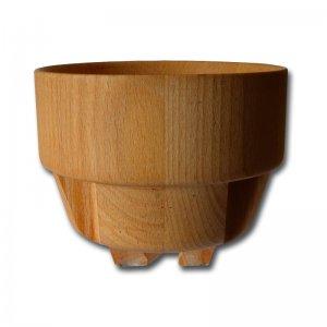 Trichter aus Holz für die Eschenfelder Kornquetschen