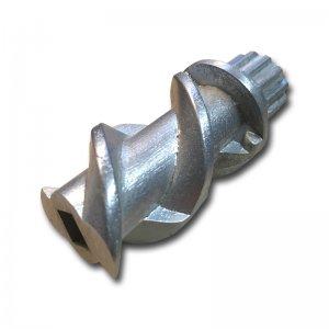 Transportschnecke aus Metall für Stahlmahlwerk, gebraucht