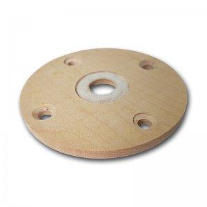Mahlkammerboden aus Holz für Schnitzer Pico, Clou und Focus