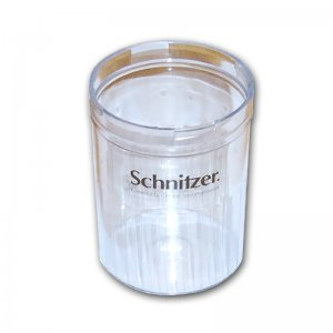 Auffangbehälter Mehlbehälter Müslibecher der Schnitzer Handmühle CH