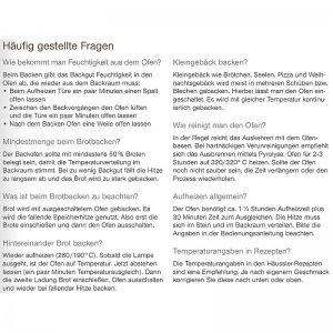 Bild 5 zu Artikel  Elektro-Steinbackofen PRIMUS