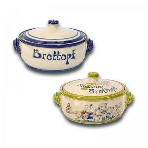 Brottopf Flach