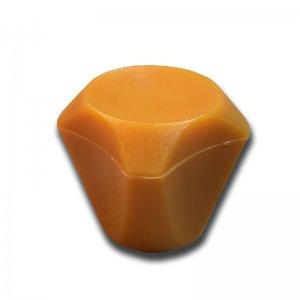 Feststellknopf für Elsässer Elektrogetreidemühle F50/F100 in orange
