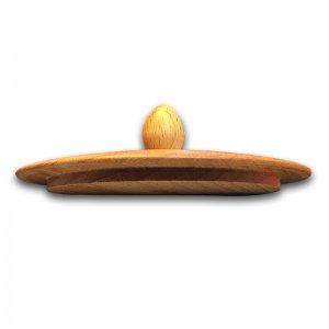 Bild 2 zu Artikel Trichterdeckel mit Knopf für Handflocker