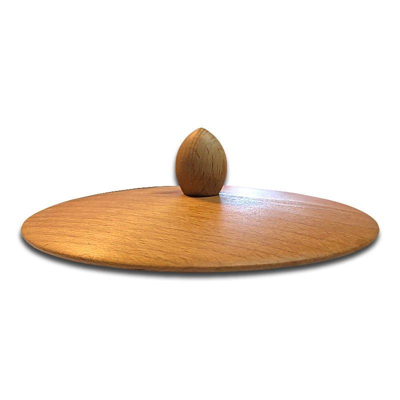 Bild zu Trichterdeckel mit Knopf für Handflocker