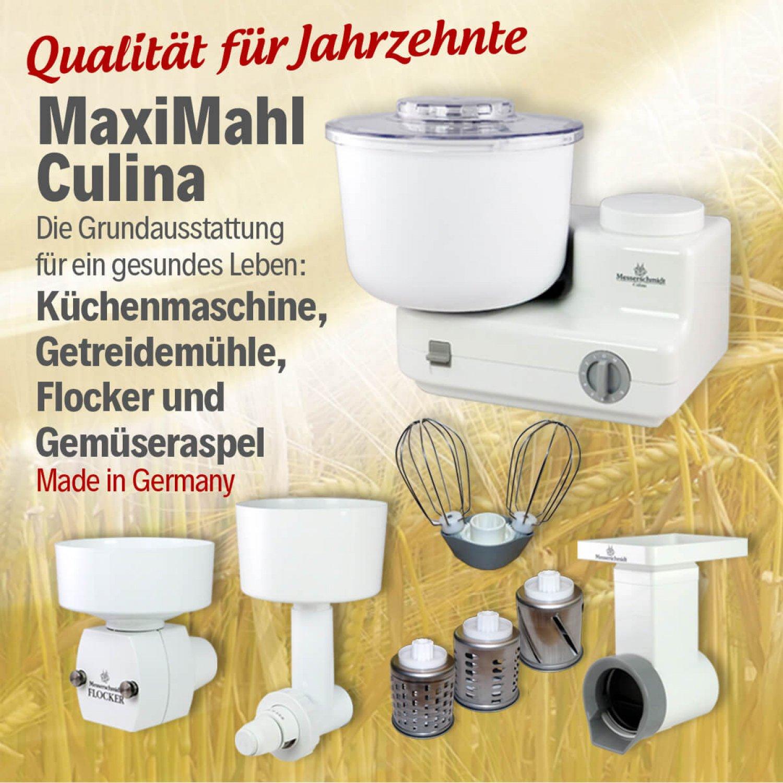 Bild zu  MaxiMahl Culina Grundausstattung für ein gesundes Leben