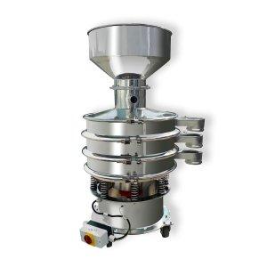 Bild zu  SAMAP Siebmaschine 600-2, mit Trichter für ca. 10 kg